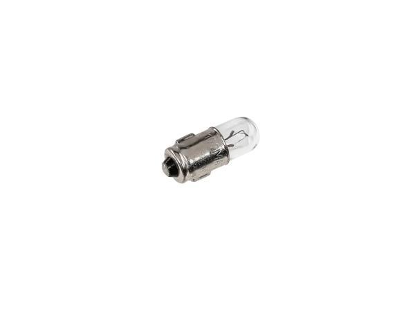 10063989 Kugellampe 6V 0,6W BA7s, Abmessung: 7x20mm  - Bild 1