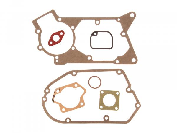 Gasket set consisting of single gaskets, flange gasket Ø19mm - for Simson S51, KR51/2 Schwalbe, SR50, S53, S70, SR80, S83