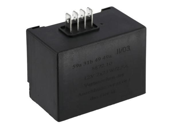 10068687 Elba 12V 2x 21W/2,5A (8872.10/1) - Simson S51, S53, S83, SR50, SR80, SD 25/50 - Bild 1