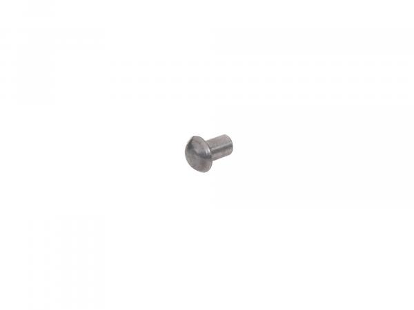 Half-round rivet 4x6mm DIN660 - rubbing strake motor tunnel