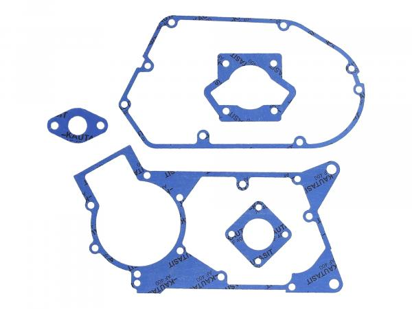 GP10000600 Dichtungssatz aus Kautasit Motortyp M500, Flanschdichtung 2mm, Ø 16mm - für Simson S51, SR50, S53, KR51/2 Schwalbe, DUO 4/2 - Bild 1