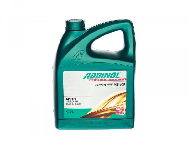 ADDINOL Zweitakt-Motorenöl MZ 405, Super Mix - 5l