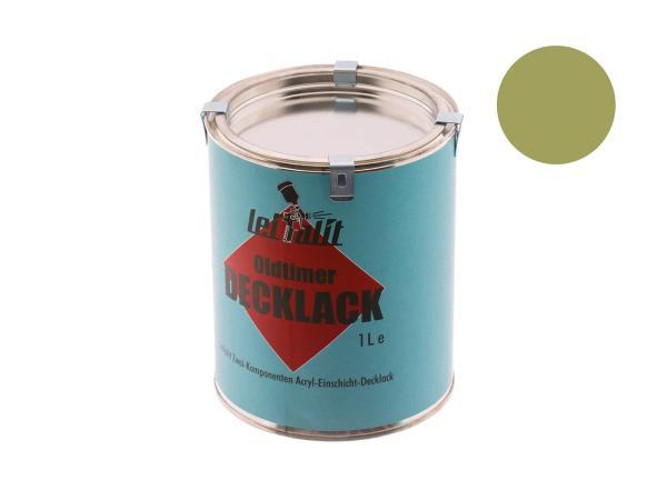 10031062 Lackfarbe 2K Leifalit Caprigrün - 1Liter - Bild 1