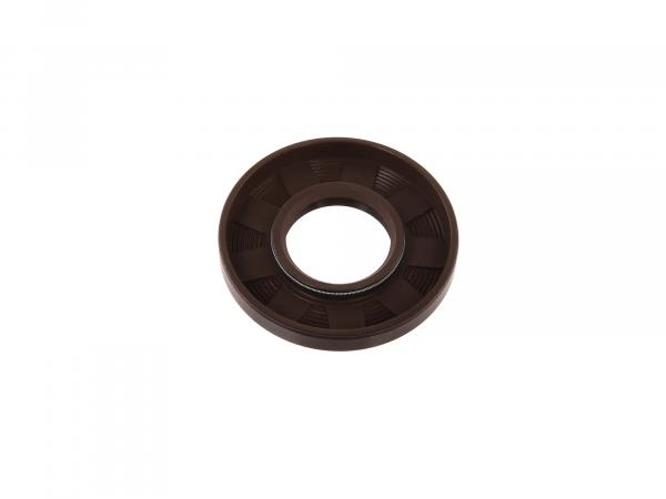 Oil seal 22x47x07, brown - for Simson S50, KR51/1 Schwalbe, SR4 - MZ TS125, TS150