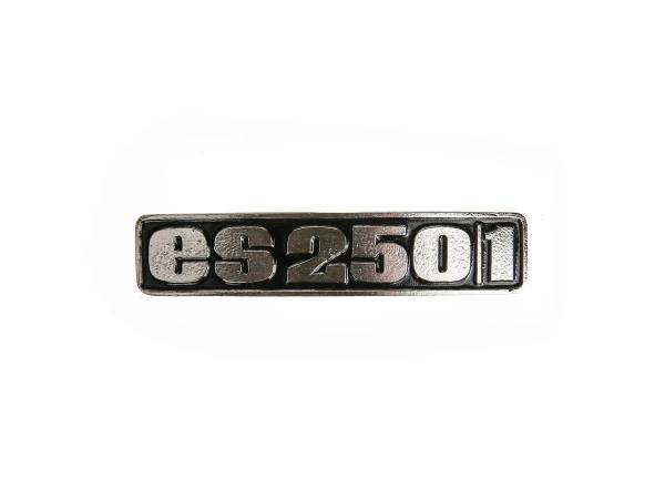 Schriftzug (Plakette aus Aluminium) ES250/1