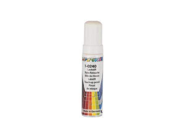 Dupli-Color Lackstift RAL 9001 cremeweiß, glänzend - 12ml