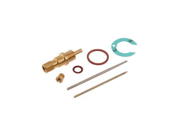 10011507 Set: Reparatursatz für Vergaser RT125 1-2 mit Flachschieber - Bild 1