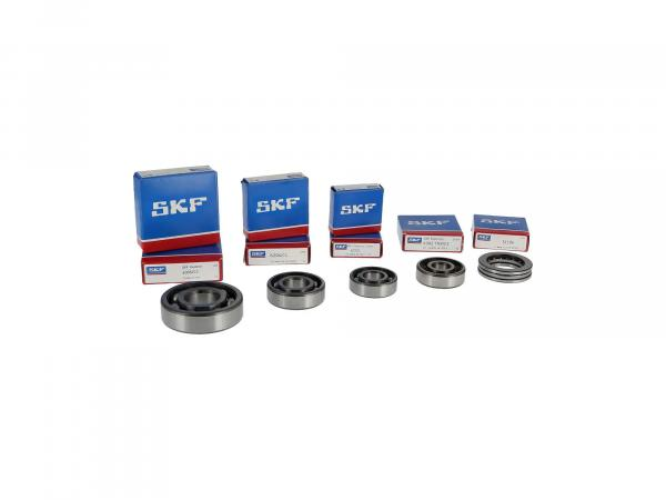 Set: Ball bearing motor, 8 pieces - MZ ES175/1, ES250/1, ES300