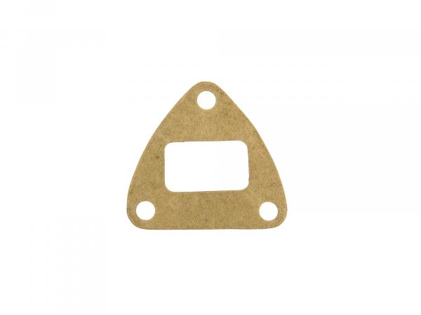 10057354 Flanschdichtung Dreieckform für Zwischenflansch - für Simson KR51/1 Schwalbe, SR4-2 Star, SR4-4 Habicht, Duo4/1 - Bild 1