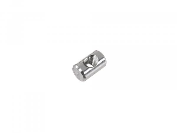 Brake adjusting nut zinc plated for brake rod - Simson S51, S50, S53, Schwalbe KR51/2