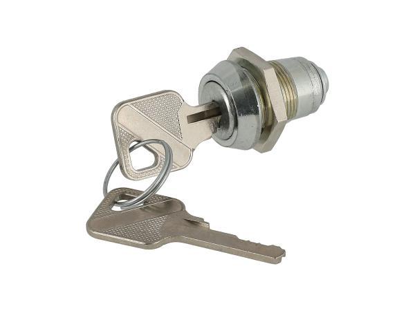 10003392 Werkzeugkastenschloss - für MZ ETZ 125, 150, 250, 251, 301 - IWL SR56 Wiesel, SR59 Berlin, TR150 Troll - Bild 1