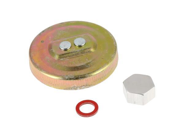 GP10000639 Set: Tank-Verschlüsse + Dichtungen, für Entrostung und Versiegelung - Bild 1
