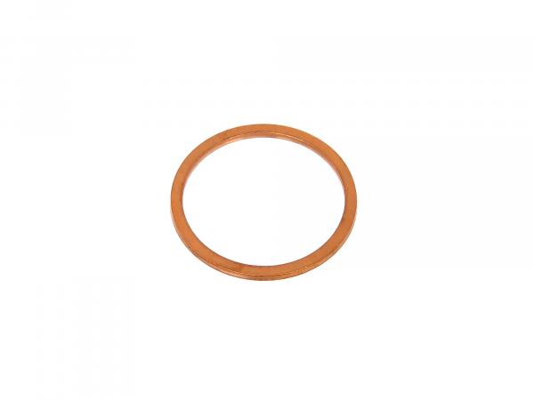 Manifold gasket copper, solid Ø 33x39x2 mm - for RT125