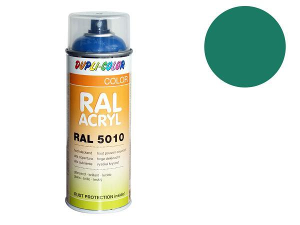 Dupli-Color Acryl-Spray RAL 5021 wasserblau, glänzend - 400 ml