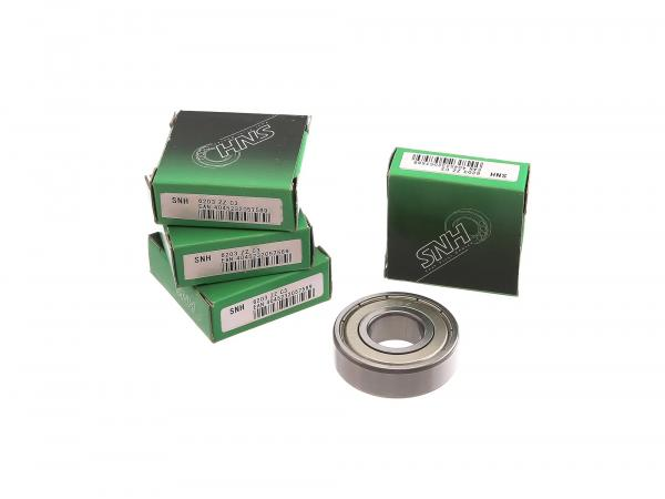 Set: Ball bearing for hub front + rear, 4-piece - BK350
