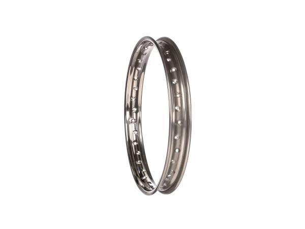 "rim 1,6 x 17"" stainless steel rim - Simson S53, S83"