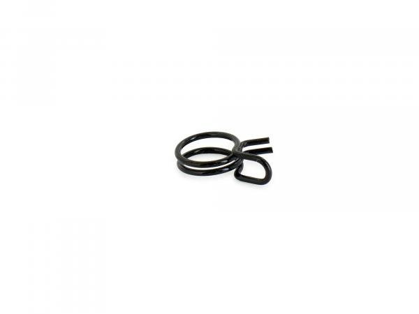 Spring wire clamp, Ø=11.3 - ideal for securing fuel hose