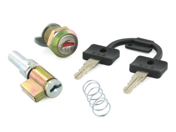 Set: Handlebar lock + bench lock - Simson SR50, SR80