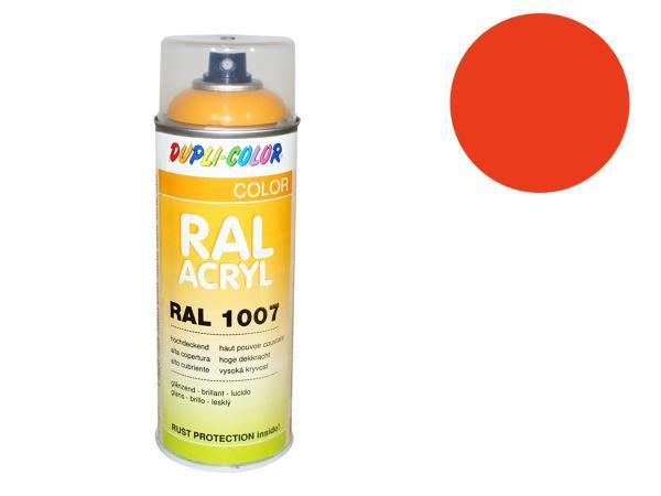Dupli-Color Acryl-Spray RAL 2009 verkehrsorange, glänzend - 400 ml