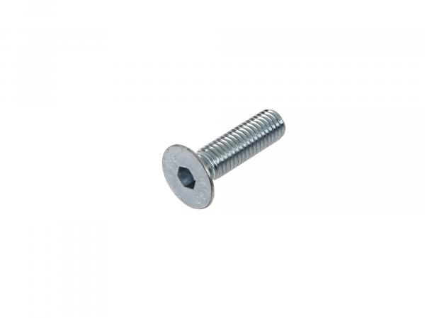 Countersunk screw, hexagon socket M8x30 - DIN7991