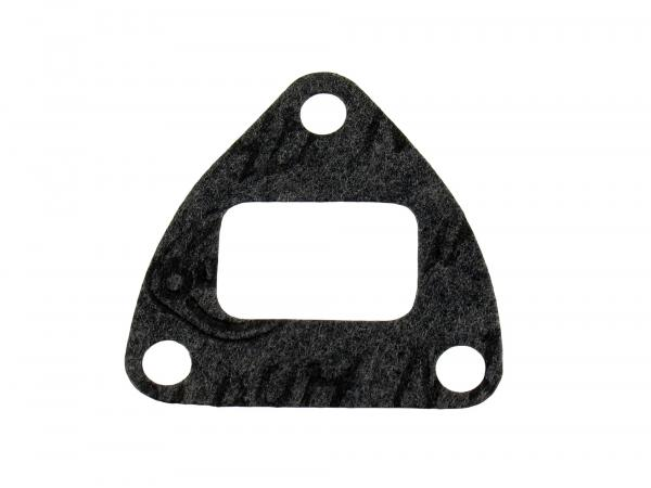 Flange gasket triangular shape for intermediate flange - Simson KR51/1 Schwalbe, SR4-2 Star, SR4-4 Habicht, Duo4/1