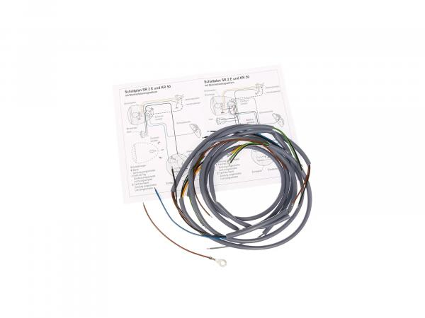 Wire harness SR1, SR2, SR2E in grey