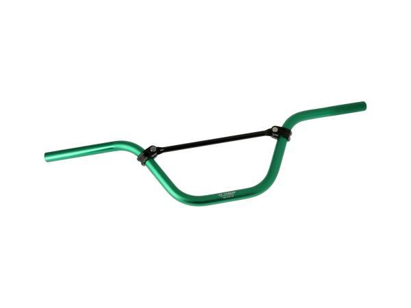 10069438 Crosslenker ZT-Tuning, Grün eloxiert - für Simson S51, S50, S53, S70, S83 - Bild 1
