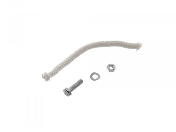 Small parts set: (glass fibre cord and screw for silencer 6 x 110 lg.)