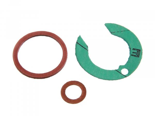 Carburetor gasket set (2xAbilring +1 gasket) for flat slide valve RT125/1, RT125/2, RT125/3