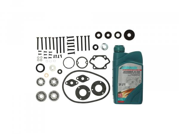 GP10000709 Set: Motorregenerierung SKF für Motortyp Sö 4-1 P/K - für Simson SR1, SR2, KR50, Spatz - Bild 1