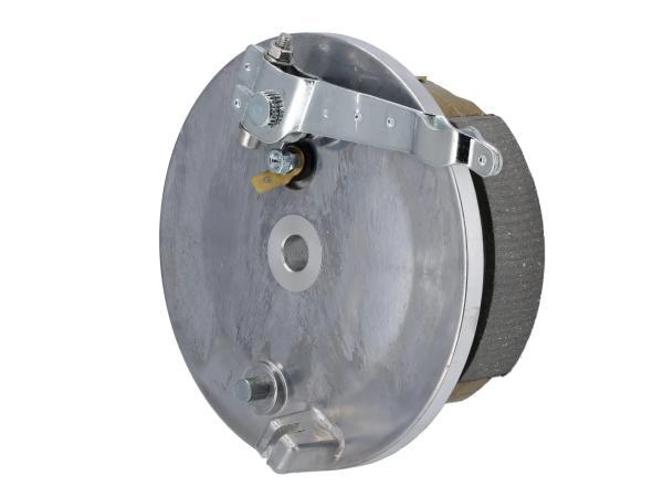 10068591 Bremsschild hinten komplett - für Simson S51, KR51/2 Schwalbe, S53, S70, S83 - Bild 1