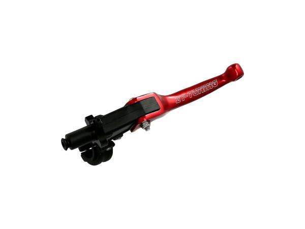 Kupplungsarmatur mit Klapphebel Racing Rot
