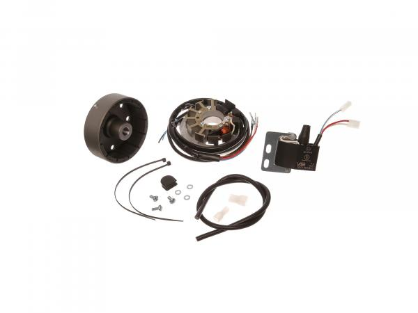 Magneto-light ignition system 6V 18W with integrated fully electronic ignition - Simson SR1, SR2, KR50