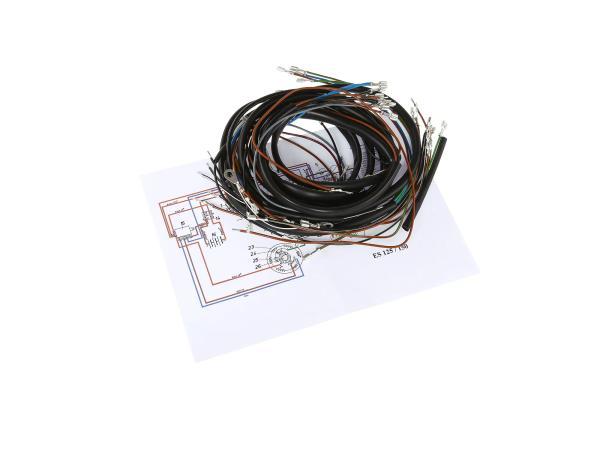 Kabelbaumset für ES 125,150 Steckkontakte