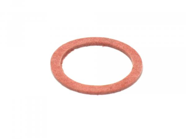 Gasket - Ø18x23 (red) for connecting piece suitable for carburettor AWO