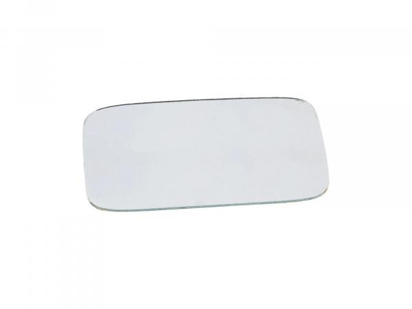 Mirror glass, angular, 119 x 69mm (classic car)