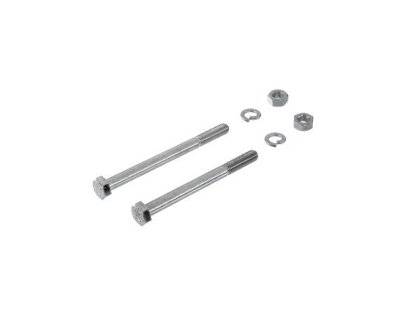 10016583 Set: Sechskantschrauben für  Motoraufhängung Schwalbe KR51/2, S51, S50, S53, S70, S83 - Bild 1