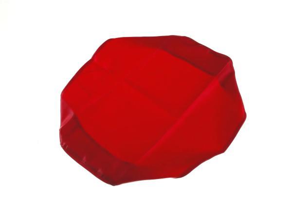 Sitzbankbezug rot, glatt - für MZ ETZ125, ETZ150, ETZ251, ETZ301