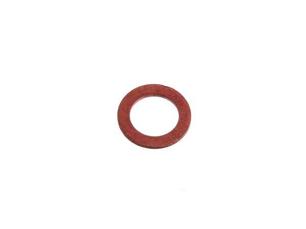 10057853 Dichtring Ø10x15 (Fiber) für Schwimmernadel  und Verschlusschraube Vergaser EMW - Bild 1