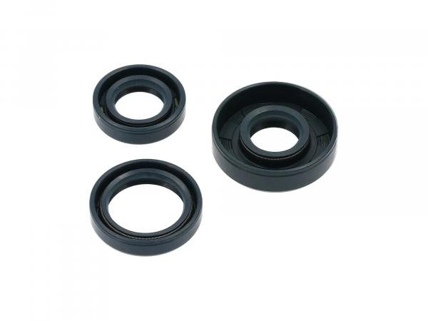 Set: shaft seals motor, blue, double lip - for RT125/1, RT125/2