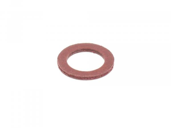 Gasket - (red) for float housing suitable for carburettor AWO