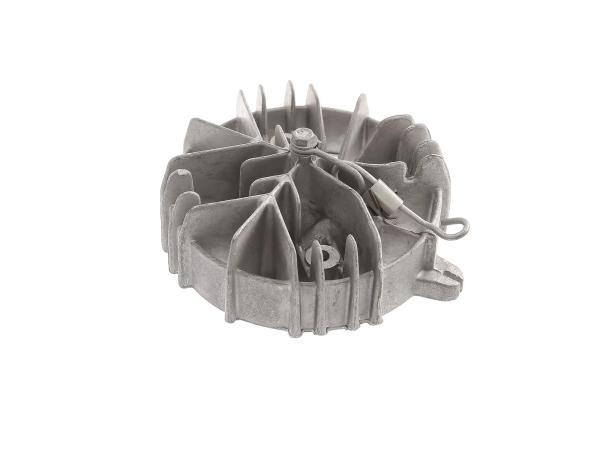 Zylinderkopf komplett alu mit Drehfeder (Dekompression) - für Mofa SL1