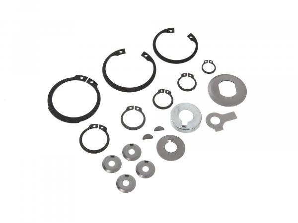 Set: Fuse parts for motor M531-M743 - for Simson S51, KR51/2 Schwalbe, SR50, S53, S70, SR80, S83, MS50, DUO 4/2
