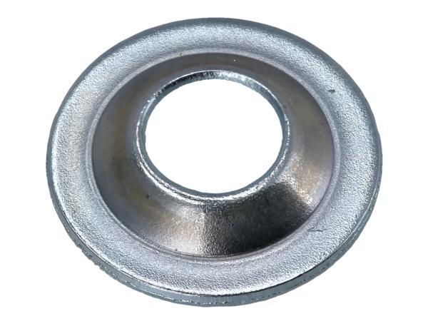 Countersunk disk, bright galvanized, handlebar cover - Simson KR51 Schwalbe, SR4-2 Star, SR4-3 Sperber, SR4-4 Habicht