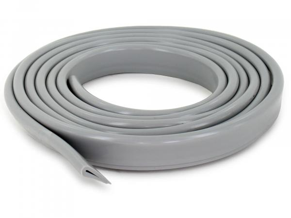 piping for bench - all Simson - vehicles - cut 1,80 m - grey plastic