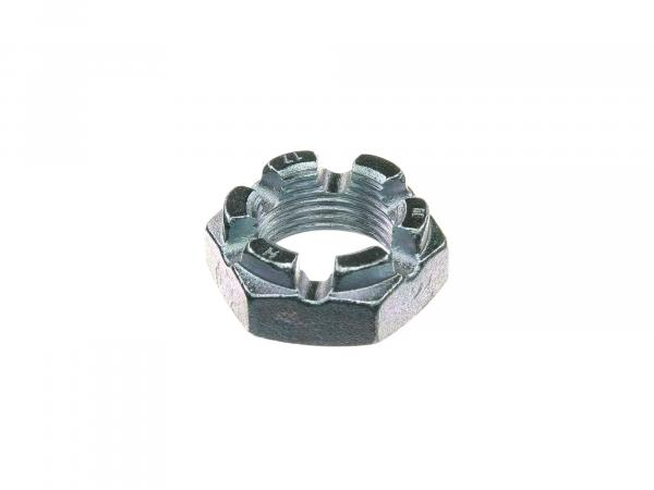 Crown nut (rear wheel suspension) suitable for AWO tours