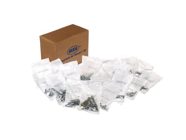 10016330 Set: Schrauben universal für komplettes Fahrzeug Simson S50 - Bild 1