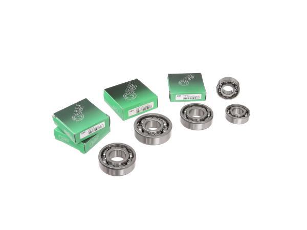 10056046 Set: Kugellager Motor + Getriebe, 6-teilig - für MZ ETZ125, ETZ150 - Bild 1