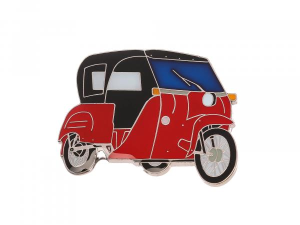 SIMSON-Pin Duo 4/2 in Rot