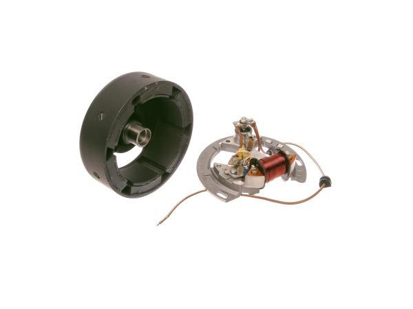 SET Schwunglichtprimärzünder SLPZ 8302.1 (Rotor 8306.10-010 + Stator) - 6V-Unterbrecherzündung - ohne Lichtspulen - Aufbausatz Rasenmäher BM40